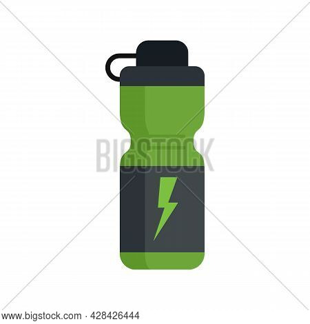 Boost Energy Drink Icon. Flat Illustration Of Boost Energy Drink Vector Icon Isolated On White Backg