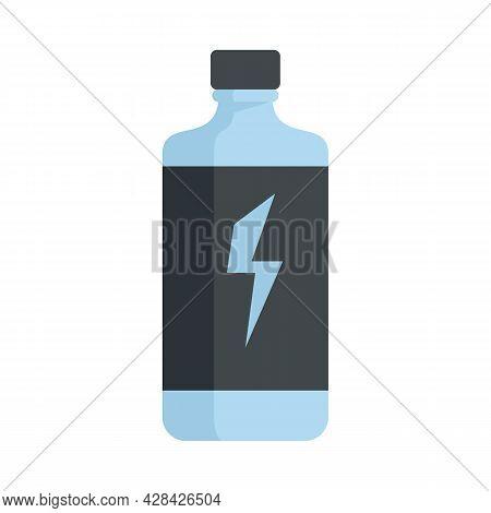 Power Energy Drink Icon. Flat Illustration Of Power Energy Drink Vector Icon Isolated On White Backg
