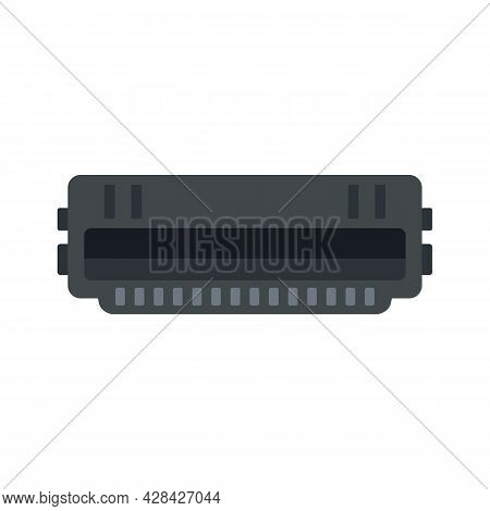 Cartridge Roll Icon. Flat Illustration Of Cartridge Roll Vector Icon Isolated On White Background