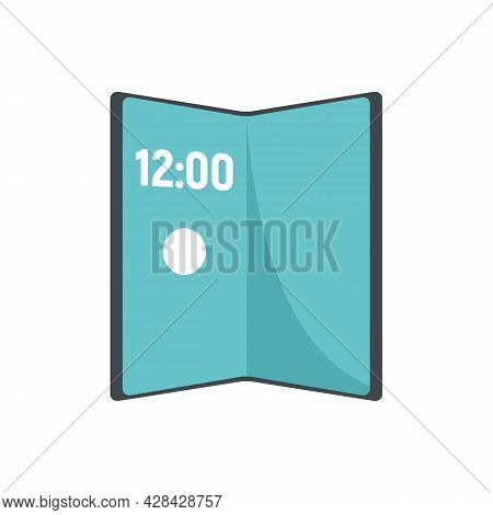 Artificial Foldable Display Icon. Flat Illustration Of Artificial Foldable Display Vector Icon Isola