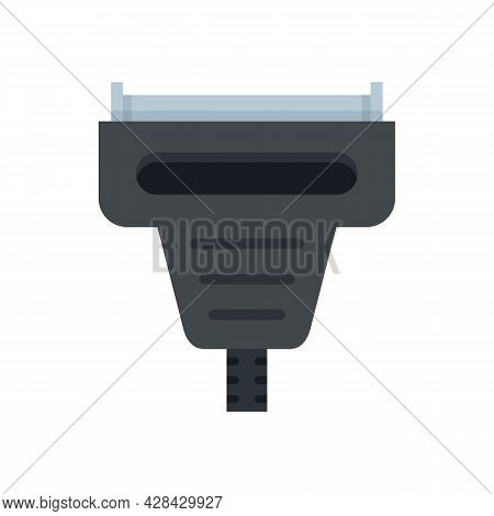 Adapter Connector Icon. Flat Illustration Of Adapter Connector Vector Icon Isolated On White Backgro