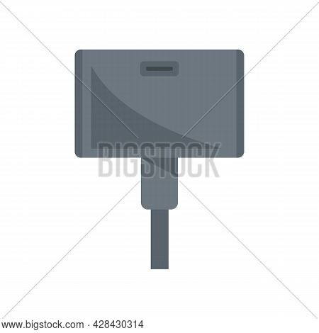 Wide Adapter Icon. Flat Illustration Of Wide Adapter Vector Icon Isolated On White Background