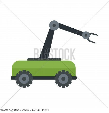 Smart Picking Machine Icon. Flat Illustration Of Smart Picking Machine Vector Icon Isolated On White