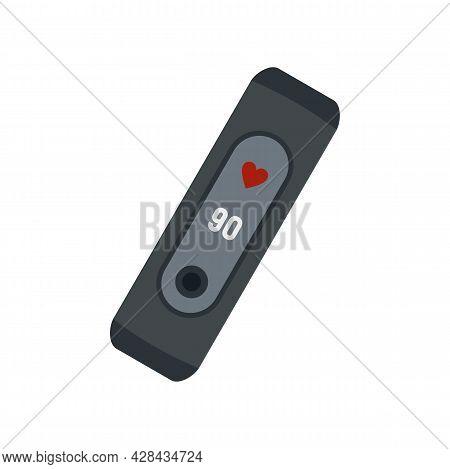 Technology Smart Bracelet Icon. Flat Illustration Of Technology Smart Bracelet Vector Icon Isolated