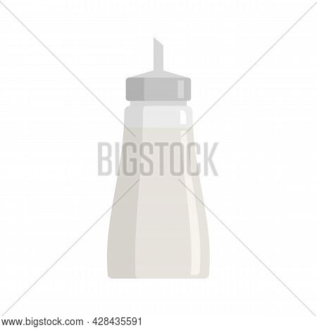 Sugar Container Icon. Flat Illustration Of Sugar Container Vector Icon Isolated On White Background