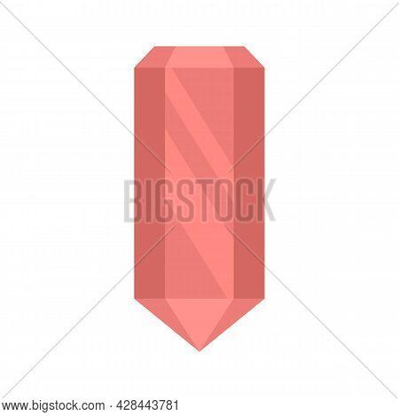 Gem Icon. Flat Illustration Of Gem Vector Icon Isolated On White Background