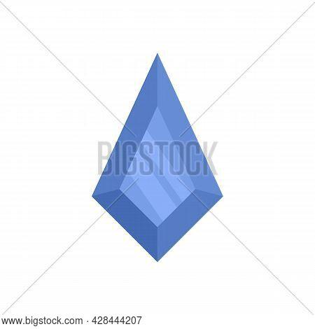 Wedding Jewel Icon. Flat Illustration Of Wedding Jewel Vector Icon Isolated On White Background
