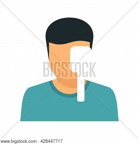 Check Eye Examination Icon. Flat Illustration Of Check Eye Examination Vector Icon Isolated On White