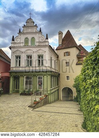 The Old City Gate Of The Charming Little Town Of Frohnleiten In The District Of Graz-umgebung, Styri