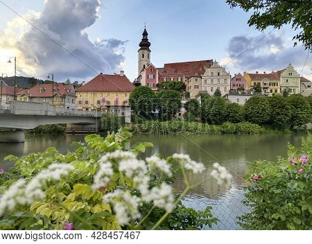 The Charming Little Town Of Frohnleiten On The Mur River In The District Of Graz-umgebung, Styria Re
