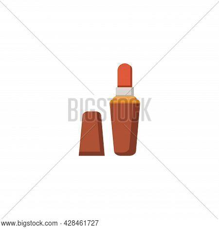 Lipstick Clipart. Lipstick Simple Vector Clipart. Lipstick Isolated Clipart.