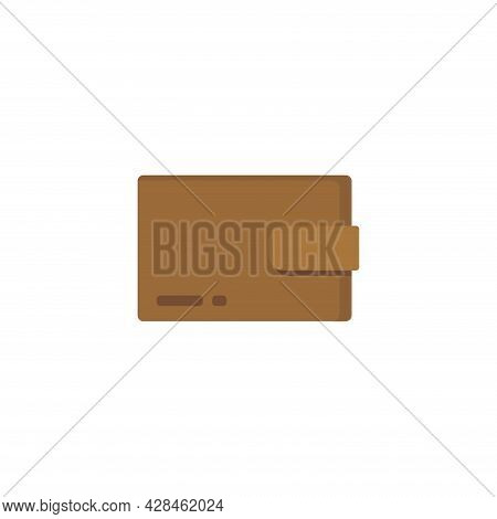 Wallet Clipart. Wallet Simple Vector Clipart. Wallet Isolated Clipart.