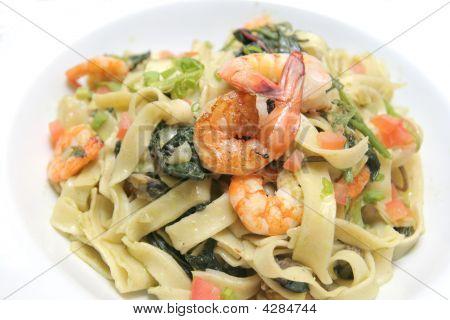 Fettucine Marinara Seafood