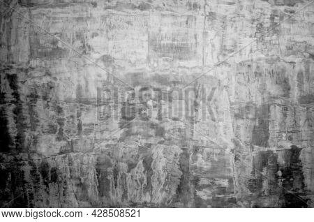 Wall Panel Grunge White,light Grey Concrete Backdrop.dirty,dust Grey Wall Concrete,cement Blackboard
