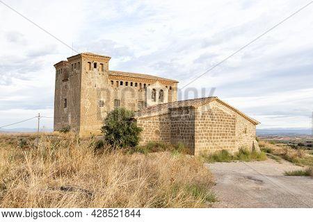 Castle Of Montcortes De Segarra, Lleida, Catalonia, Spain