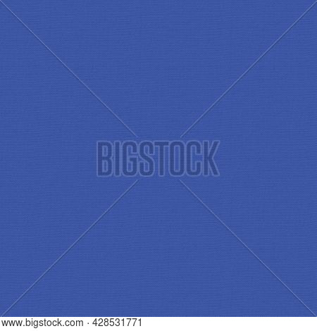 Royal Blue Fabric Texture. Fabric Background. Natural Fabric. Fabric Cloth Background.