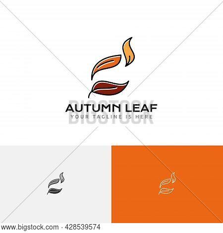 Fallen Leaves Autumn Fall Season Nature Business Logo