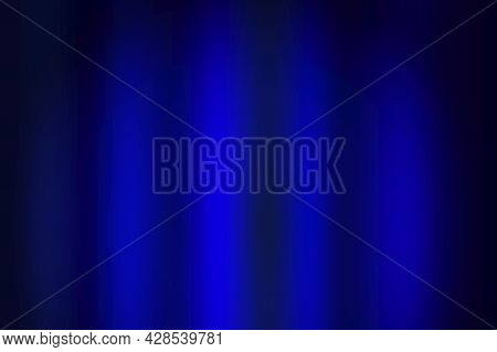 Classic Blue Curtain Background. Abstract Blue Color Background. Elegant Decoration. Vector Illustra