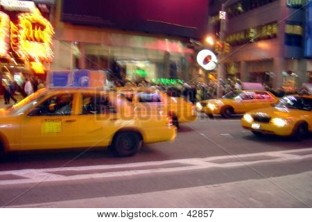 Bluury Axis On NYC Street