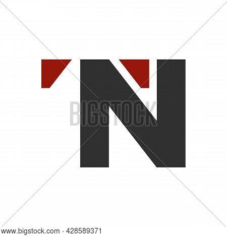 Illustration Vector Graphic Of Logo Letter T N