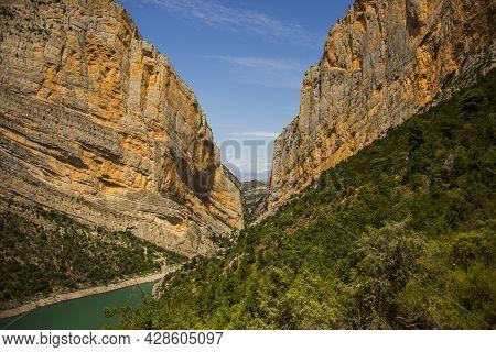 Summer Day In Congost De Montrebei, Lleida, Spain