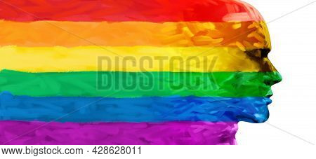 Concept Of Pride And People Social Justice Or Gay Rights Community Support For Lgbt And Lgbtq Commun
