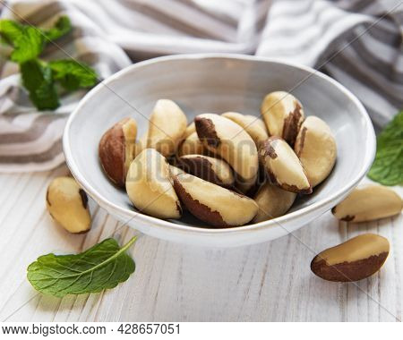 Bowl With Brazil Nuts