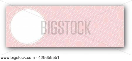Background With Circle For Text Photography Or Illustration And Circles For Congratulations, Cards,