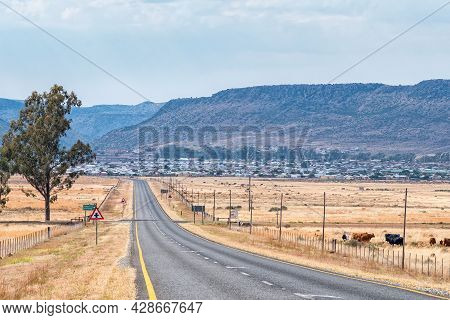 A View Of The Tembisa Township In Burgersdorp In The Eastern Cape Province A Seen From Road R391