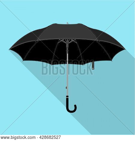 Umbrella Vector Icon.flat Vector Icon Isolated On White Background Umbrella.