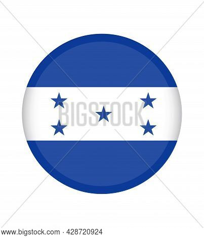 National Honduras Flag, Official Colors And Proportion Correctly. National Honduras Flag. Vector Ill