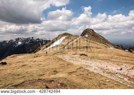 The Beskid (2012m Above Sea Level) The Easternmost Peak Of The Western Tatras In Poland Is A Peak Lo
