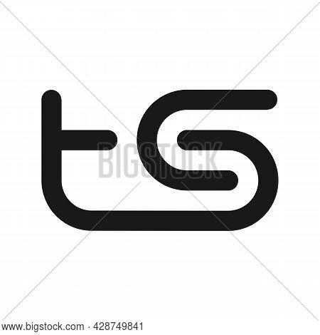 Illustration Vector Graphic Of Ts Letter Logo