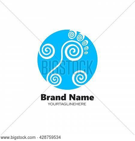 Foot Ilustration Logo Vector For Business Massage,therapist Design