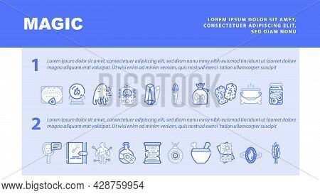Sensor Electronic Tool Landing Web Page Header Banner Template Vector. Motion And Vibration, Beam An