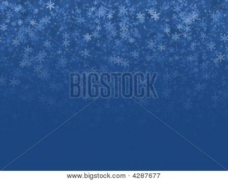 Christmas White Snowflakes.winter Crystal