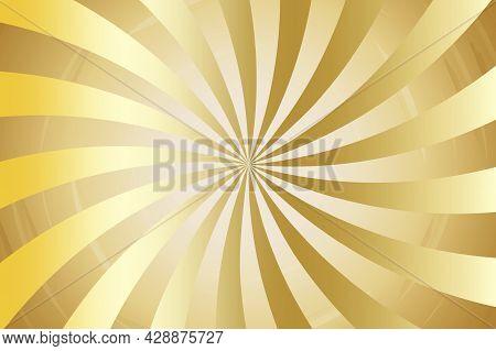 Sunlight Abstract Background. Bright Yellow Color Burst Background. Sun Beam Ray Sunburst Pattern Ba