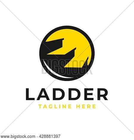 Staircase Business Illustration Logo Design Your Company