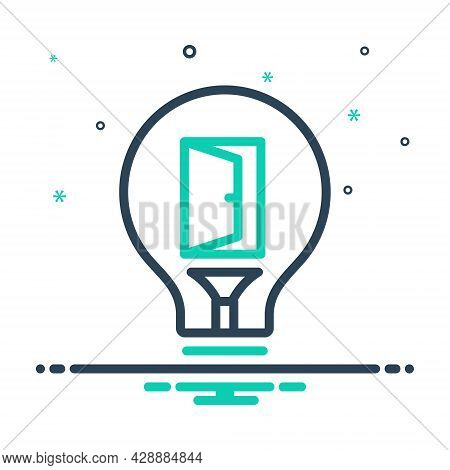 Mix Icon For Opportunity Convenience Eventuality Occasion  Career Chance Motivation Success Achievem