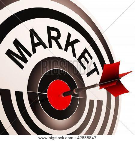 Target Market Means Consumer Targeting