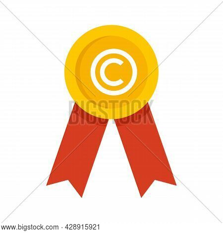 Franchise Business Emblem Icon. Flat Illustration Of Franchise Business Emblem Vector Icon Isolated