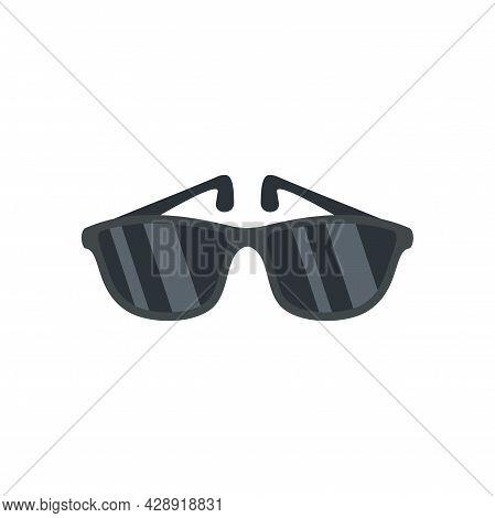 Sunglasses Icon. Flat Illustration Of Sunglasses Vector Icon Isolated On White Background