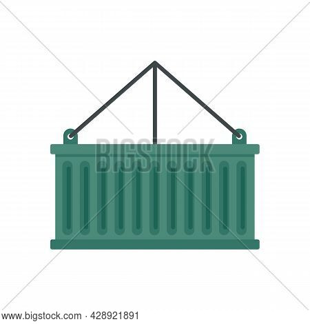 Container Box Icon. Flat Illustration Of Container Box Vector Icon Isolated On White Background