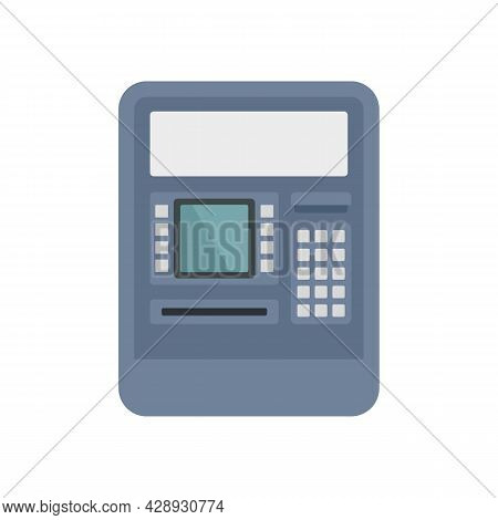 Insert Atm Card Icon. Flat Illustration Of Insert Atm Card Vector Icon Isolated On White Background