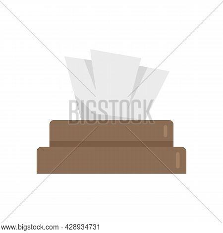 Tattoo Wipes Icon. Flat Illustration Of Tattoo Wipes Vector Icon Isolated On White Background