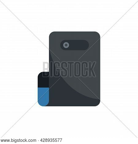 Flex Display Icon. Flat Illustration Of Flex Display Vector Icon Isolated On White Background