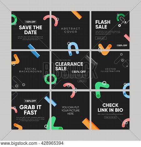Sale Square Banner Template For Social Media Post, Feed, Banners Design, Web Or Internet Advertismen