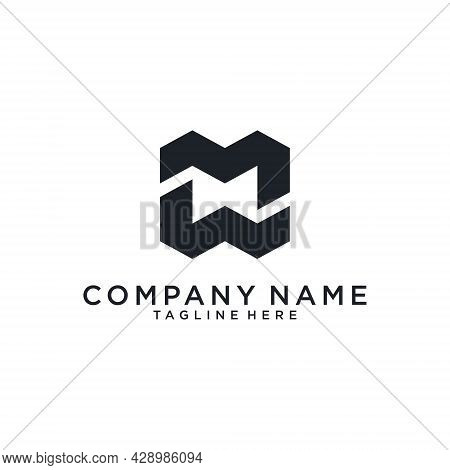 Mw Or Wm Initial Letter Logo Design. Mc Vector. Mc Icon.mc Logo
