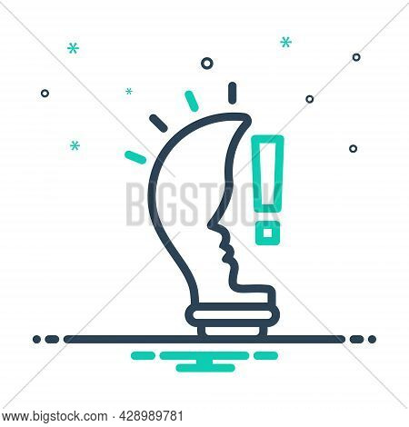 Mix Icon For Idea Belief Conclusion Concept Consideration Opinion Thought Thinking Suggestion