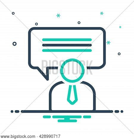 Mix Icon For Consulting Advising Consultatory Consultive Instructive Consultative Opinion Advice Cou